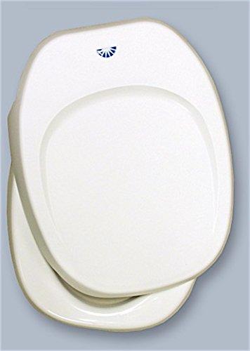 Thetford 36787 Aqua Magic IV Toilet Seat & Cover, Parchment by Thetford