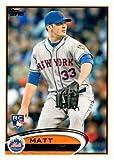 2012 Topps Update Baseball #US23 Matt Harvey Rookie Card