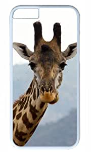 Cute giraffe animal Easter Thanksgiving Masterpiece Limited Design PC White Case for iphone 6 by Cases & Mousepads