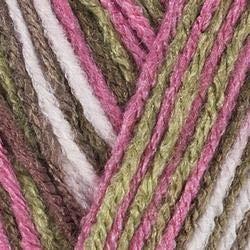 Red Heart Bulk Buy Super Saver Yarn (3-Pack) Pink Camo - Camo Yarn