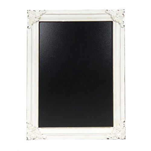 NIKKY HOME 11.8 x 15.7 Decorative Wooden Framed Wall Blackboard (In Chalkboard Kitchen)
