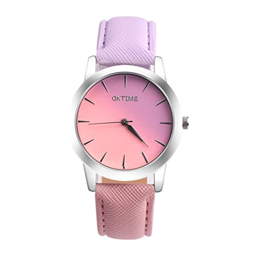 Accented Fashion Watch - Wesracia OKTIME WOK06919 Rainbow Ttwo-tone Auartz Fashion Watch Women's Watch Around The Table Vintage Rhinestone Crystal Bracelet Dial Analog Quartz Wrist Watch (A)
