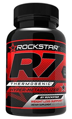 R7 Thermogenic Hyper-Metabolizer, Weight Loss Pills - 60ct