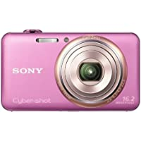 Sony Cyber-Shot DSC-WX70 16.2MP CMOS Digital Camera (Pink)