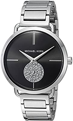 Michael Kors Women's Portia Silver- Tone Watch MK3638 from Michael Kors Watches