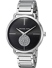 Michael Kors Women's 'Portia' Quartz Stainless Steel Casual Watch, Color:Silver-Toned (Model: MK3638)