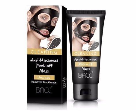 Mascarilla removedora de puntos negros -Essy Beauty - Mascara negra de carbón desprendible con calidad purificadora. La mejor mascarilla facial de lodo para ...
