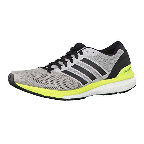 adidas Adizero Boston 6 W, Zapatillas de Running para Mujer Gris (Gridos / Negbas / Amasol)