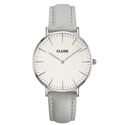 Cluse CL18215 - Reloj de pulsera con correa gris La Boheme para mujer CL18215: Amazon.es: Relojes
