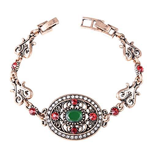 Hotesea Jewelry Bracelets Cuff Bracelets & Bangles Wedding green3 ()