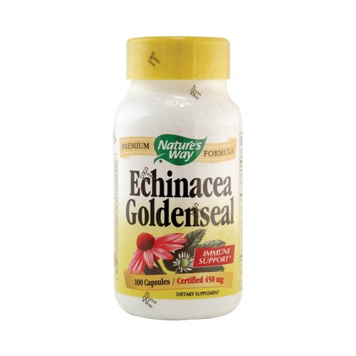 Cayenne Goldenseal - Natures Way - Natures Way Echinacea Goldenseal - 100 Capsules
