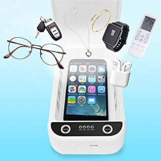 Smart Cell Phone Cleaner, Portable Smart Phone Cleaner, Phone Clear Aromatherapy Function with USB Charging for iOS Android Mobile Phone Jewelry Pacifier Toothbrush Watches
