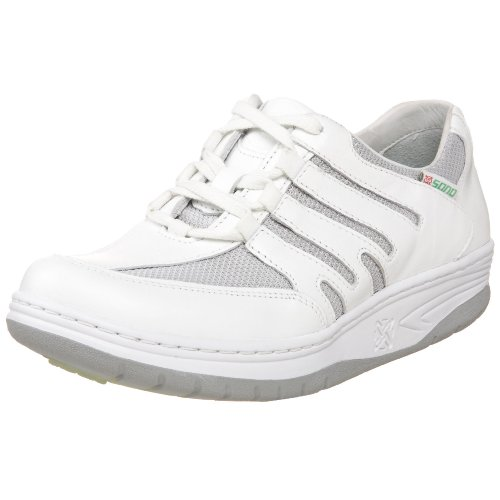 SANO by Mephisto Womens Escape Sport Lace-Up White