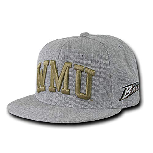NCAA Game Day Fitted Cap College Caps - Western Michigan Univ, 7 3/8 ()