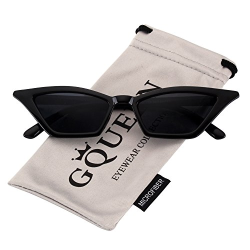 c2328a75984 GQUEEN Clout Goggles Vintage Cat Eye Sunglasses Mod Style UV Protection Kurt  Cobain shades