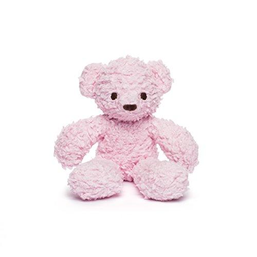 Bears For Humanity Organic Sherpa Bear Plush Animal Toys, Pink, 12