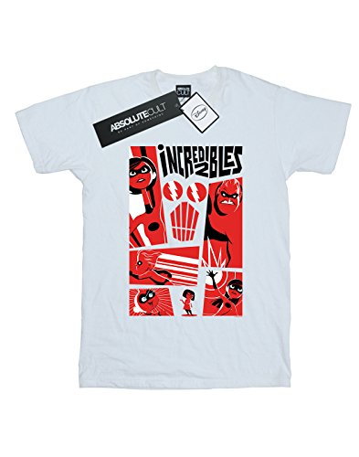 camiseta Boy blanca The Collage Incredibles Disney 2 qfdx8wOXw