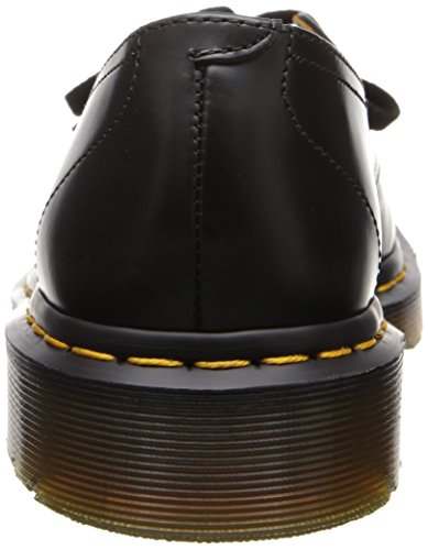 Dr. Martens Mujeres Negro Saino Cuero Zapatos-UK 5