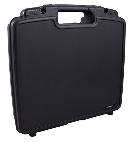 CASEMATIX Hard Case Fits Ammoon Worlde Panda mini 25-Key USB Keyboard and Drum Pad Midi Controller with Small Music Accessories by CASEMATIX