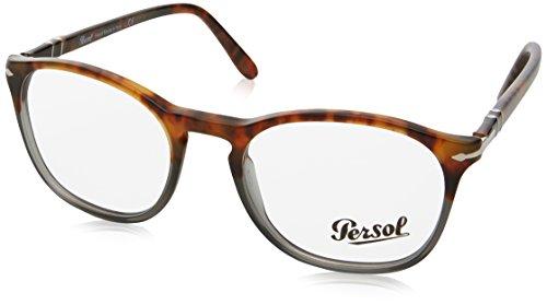 - PERSOL Eyeglasses PO 3007V 1023 Fuoco E Ardesia 50MM