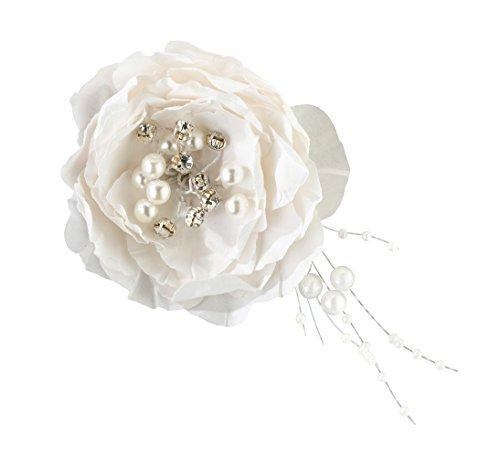 Lillian Rose Pretty Jewel Flower Wedding Hair Clip Access...
