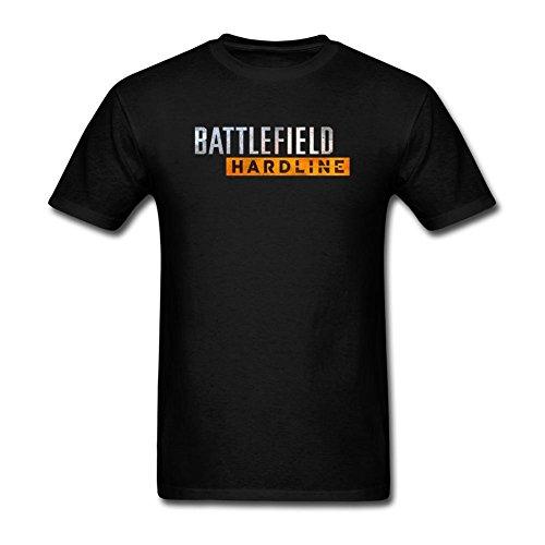 Feixia Men's Battlefield Hardline DIY Cotton Short Sleeve T Shirt