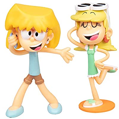 The Loud House Figure 8 Pack - Lincoln, Clyde, Lori, Lily, Leni, Lucy, Lisa, Luna - Action Figure Toys from The Nickelodeon TV Show - Ages 4+: Toys & Games