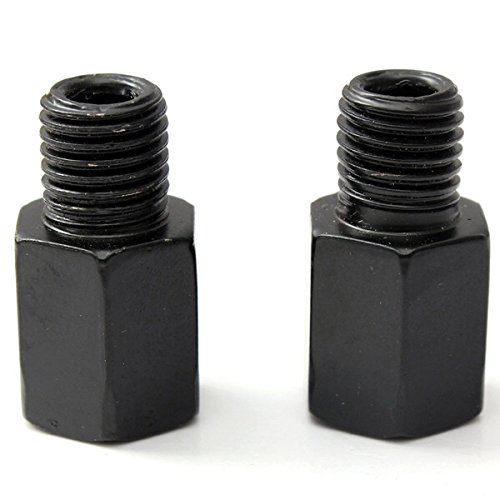 (10mm to 10mm Mirror Screw Adapters Bolts Converts For Yamaha)