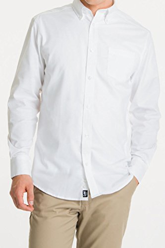 lee-uniforms-mens-long-sleeve-oxford-shirt-white-large