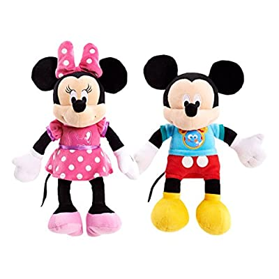 Mickey Mouse Clubhouse Fun Minnie Mouse Plush: Toys & Games