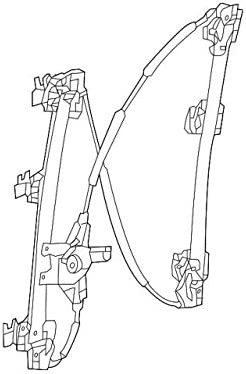 Window Regulator Nissan 80720-3KA0A