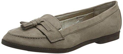 New Look WoMen Wide Foot Koafer 2 Ballet Flats Brown (Brown/21)