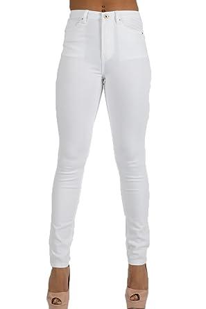 6d5c5ed6d3b084 Toxik3 Damen Jeanshose Weiß Weiß 36 Gr. 42, Weiß: Amazon.de: Bekleidung