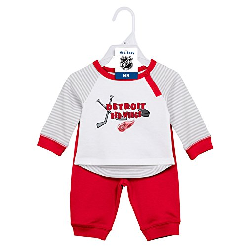 Hockey Art Detroit Red Wings - OuterStuff NHL Detroit Red Wings Layette Newborn