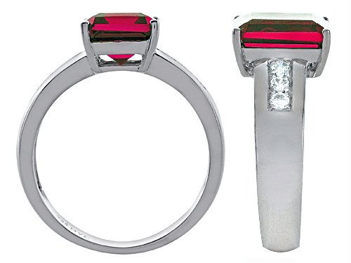 Star K Classic 9x7mm Octagon Emerald Cut Ring