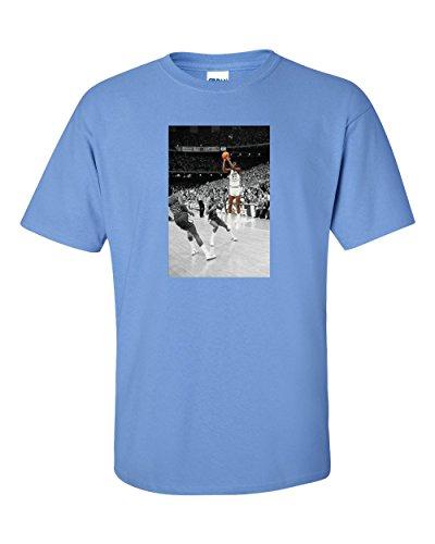 Shot Youth T-shirt (Blue UNC Jordan The Shot T-Shirt Youth)