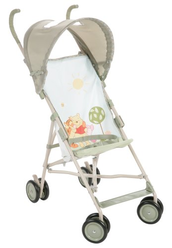 Disney Baby Umbrella Stroller with Canopy Featuring Pooh Characters, Ambrosia Discontinued by Manufacturer