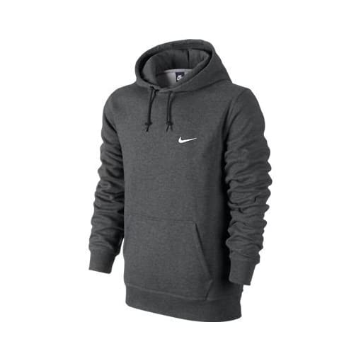 Nike Club Center Swoosh PO Hoodie Casual Dark Obsidian