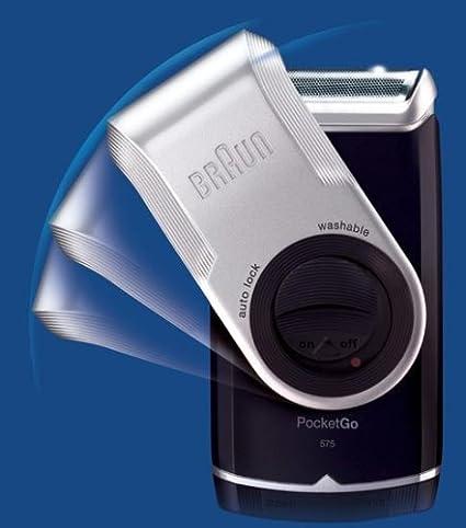 Braun - Afeitadora PocketGo 570 (Afeitadora, capuchon protector ...