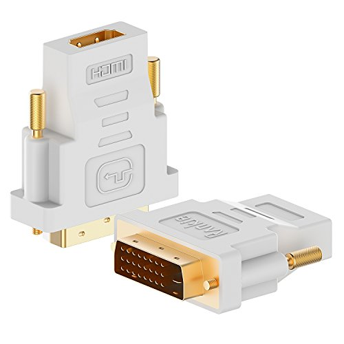 Rankie 2 Pack Gold Plated Adapter Converter