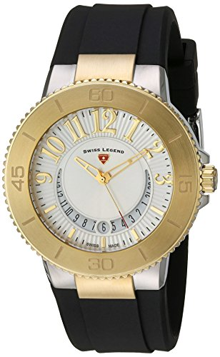 Swiss Legend Women's 11315SM-SG-02 Riviera Analog Display Swiss Quartz Black Watch