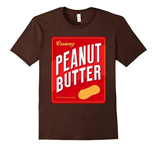 Simple Halloween Couples Costumes (Mens Couples Halloween Costume Shirt, Peanut Butter Matching Pair Medium)