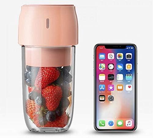Mélangeur portatif, tasse de presse-agrumes d'Usb de mélangeur de smoothie, mélangeur de fruits avec 1200 batteries rechargeables