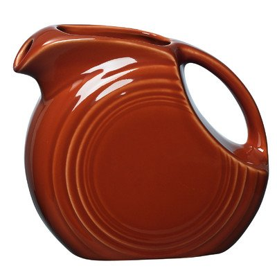 Fiesta 28-Ounce Small Disk Pitcher, Paprika ()