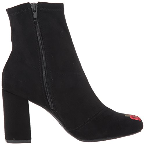 MIA Women's Jordenn Ankle Bootie Black fake 5MuvkH5