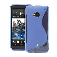 Fosmon DURA S Series (TPU) Skin Case Cover for HTC One (2013) / HTC M7 (Blue)