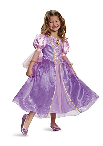 Rapunzel Prestige Disney Princess Tangled Costume, Small/4-6X ()