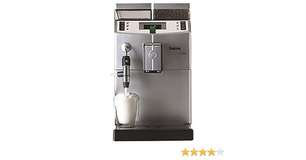 Saeco Lirika Macchiato Independiente Totalmente automática Máquina espresso 2.5L 15tazas Acero inoxidable - Cafetera (Independiente, Máquina espresso, ...