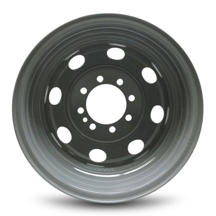 IWS Series 03210 16''x6'' 8x165.1–130mm New Ford E350 (92-07) E450SD (96-03) Van Dually DRW 16x6 Inch 8 Lug Gray Replacement Steel Wheel Rim