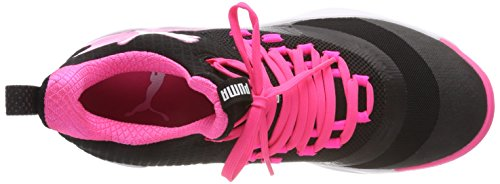 Fuse Pink Wn's Chaussures knockout Xt puma 2 Black Indoor Noir Femme Multisport Rise puma 01 Puma White pqEw11